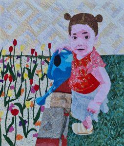 My Little Gardener Quilt by Rena Reich